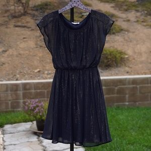 Lush brand Shimmery dark blue dress